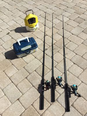 Fishing gear combo C13-3 for Sale in PT CHARLOTTE, FL