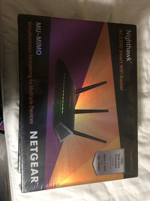 NETGEAR Nighthawk AC2300 Smart Wi-Fi Router 5G for Sale in Stockton, CA