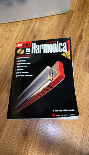 Harmonica instruction book for Sale in Virginia Beach, VA