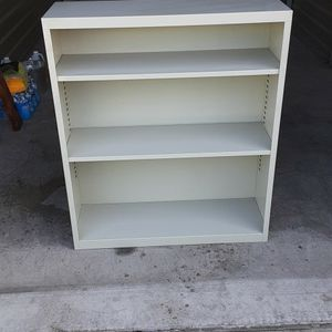 Steel Shelve book 3 1/2'tall x 3'wide x 1'deep for Sale in Huntington Beach, CA