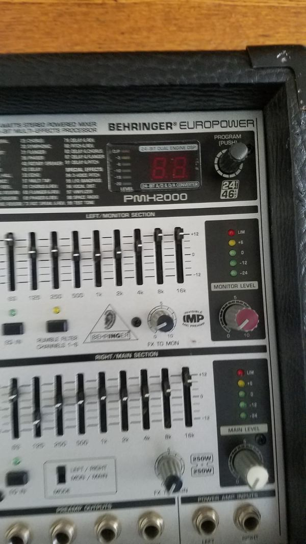 EUROPOWER 2000 Amp $50 * Easy fix or use for parts