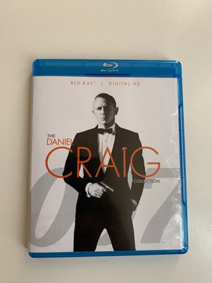 The Daniel Craig collection Blu-ray movies for Sale in Scottsdale, AZ