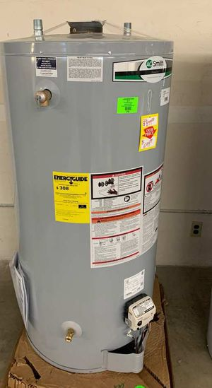 74 gallon AO Smith water heater with warranty U5CN for Sale in Hawthorne, CA