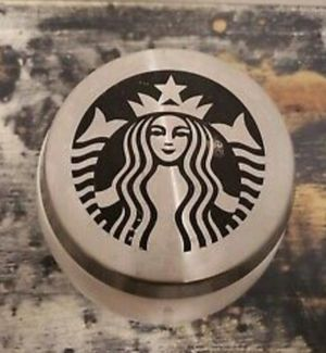 RARE 2011 Starbucks Stoneware Jar coffee bean canistet with metal stainless steel sealing lid for Sale in Milpitas, CA