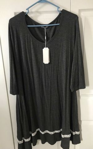 Brand new women's three Quarter sleeve loose T-Shirt dress size XXl (pick up only) for Sale in Springfield, VA