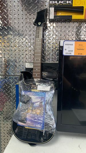 Guitar hero live for PS4 with guitar for Sale in Kissimmee, FL