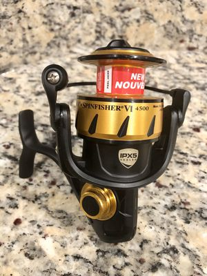 Brand New Penn Spinfisher VI 4500 Fishing Reel for Sale in New Port Richey, FL