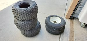 Tires (lawn mower) for Sale in Pueblo West, CO
