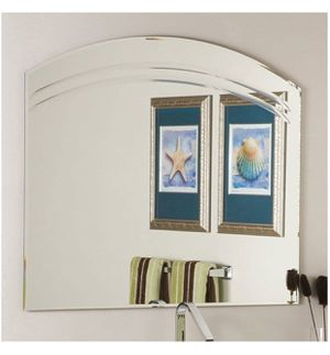 Angel Large Frameless Wall Mirror By Decor Wonderland for Sale in Denver, CO