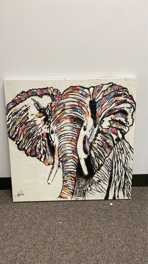 Elephant artwork print for Sale in Villa Park, IL