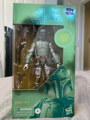 Star Wars: The Empire Strikes Back Boba Fett The Black Series Carbonized Collection Action Figure for Sale in Portland, OR