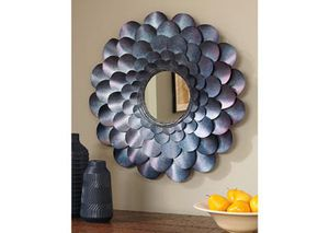 NEW, Deunoro Blue Accent Mirror, SKU# A8010061 for Sale in Westminster, CA