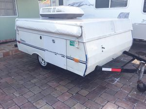 Pop up camper ready to camp ac blows cold sleeps 6 for Sale in Hialeah, FL