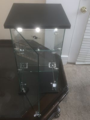 Glass Display Case With Lock And Key and High qualityTempered glass for Sale in Marietta, GA