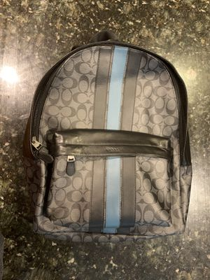 COACH MEN'S LEATHER BACKPACK for Sale in Marietta, GA