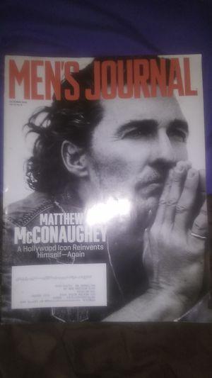 Matthew McConaughey magazine for Sale in Baltimore, MD