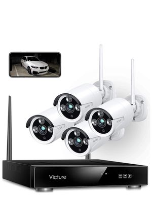 Wireless Security Camera System, 1080P 4PCS Outdoor WiFi Surveillance Camera for Sale in Cerritos, CA