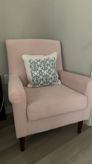 Light pink armchair (Ronald Armchair by Andover Mills on wayfair) for Sale in Washington, DC