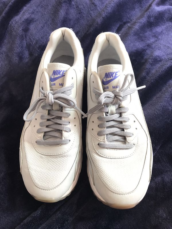 Brand new Nike Air Max sneakers - white, women's size 8.5
