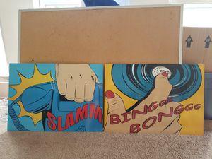 Slammm....Binggg bonngg art - NOT FREE for Sale in Frisco, TX