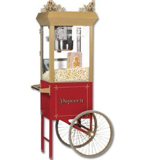 Popcorn Machine with Cart by Gold Medal Products Antique Deluxe 60 Special Model 2660GT for Sale in Tampa, FL