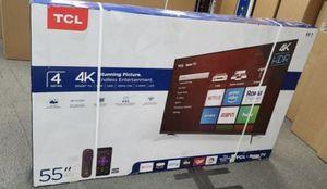 "55"" TCL roku smart 4K led uhd hdr tv for Sale in Norwalk, CA"