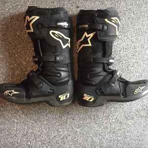 Botas Alpinestar Tech 10 Size 11 for Sale in Fort Worth, TX