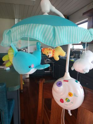 Fisher-Price Precious Planet 2-in-1 Projection Mobile for Sale in Brooktondale, NY