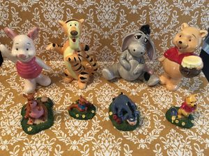 Vintage Disney Winnie the Pooh & Friends Figurine Lot for Sale in Irvine, CA