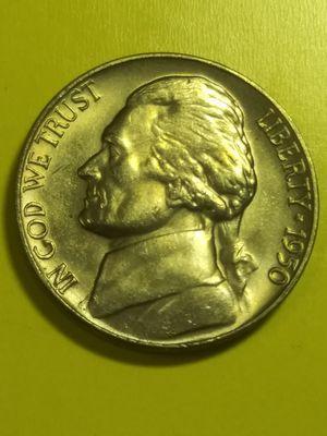 Gem choice FULL steps 1950 nickel for Sale in Denver, CO