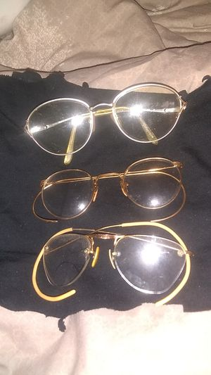 Vintage/antique gold&silver safety glasses for Sale in Clairton, PA