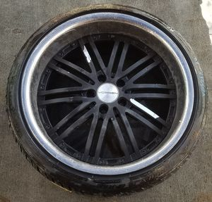 "20"" VOSSEN AFTERMARKET WHEEL RIM WITH TIRE for Sale in Fort Lauderdale, FL"