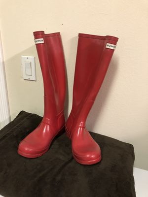 Hunter Red Boots for Sale in Palo Alto, CA