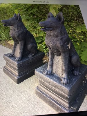 Shepherd statues cement New for Sale in Hamden, CT