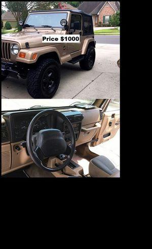 ֆ1OOO_1999 Jeep Wrengler for Sale in Orange, CA