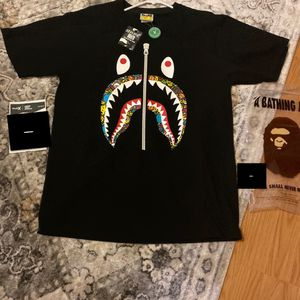 BAPE Milo Banana Pool Shark T-Shirt Black for Sale in Lynnwood, WA