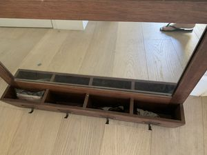 Wood/mirror wall organizer for Sale in Mission Viejo, CA