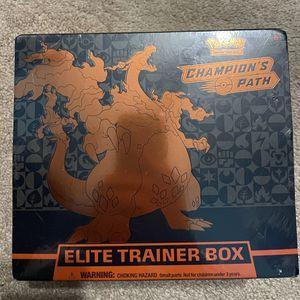 Champion's Path Elite Trainer Box Pokémon Trading Card Game for Sale in Wayne, NJ