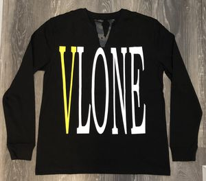 Vlone Staple Long Sleeve Tee Yellow on Black - Size M for Sale in Parkersburg, WV