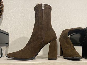Suede Dark Green Booties for Sale in Las Vegas,  NV