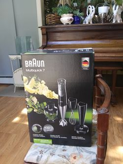 Braun, hand mixer, MQ727, 400 watts for Sale in Port Washington,  NY