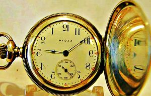 1909 ELGIN COIN SILVER HUNTER POCKET WATCH for Sale in Port Orchard, WA