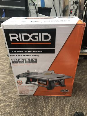 Table Saw, Tools-Power RIDGID Brand New in Box .. Negotiable for Sale in Baltimore, MD