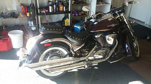2012 suzuki boulevard motorcycle and 5 rim set. for Sale in Dallas, TX