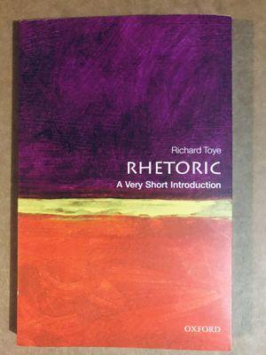 Rhetoric book for Writing 102 for Sale in Chandler, AZ