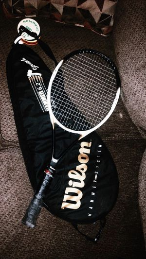 TWO Wilson Hammer Tennis Rackets with Case for Sale in Marietta, GA