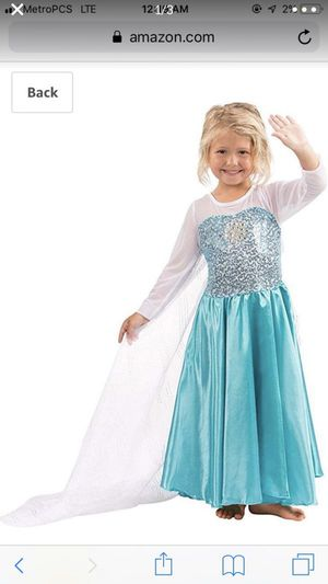Elsa Dress Custome for Sale in Miramar, FL