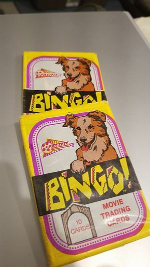 Bingo Movie Trading Cards for Sale in East Wenatchee, WA