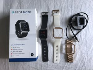 Fitbit blaze with accessories for Sale in Fort Lauderdale, FL