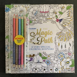 New Adult coloring book and pencils for Sale in New York, NY